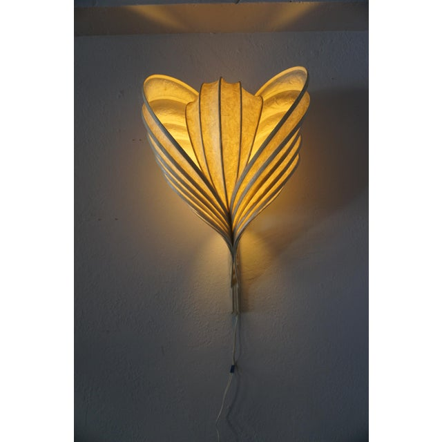 1980s Wall Sconces by William Leslie - a Pair For Sale - Image 5 of 9