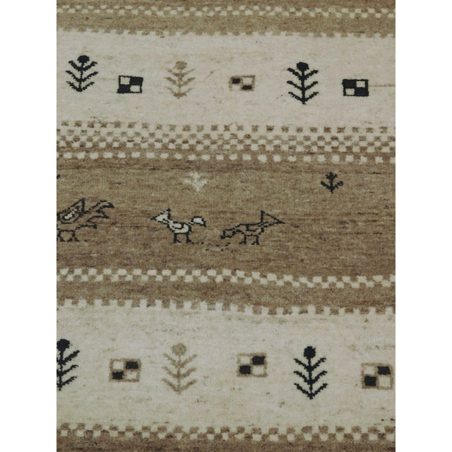 "Textile Hand-Knotted Runner Rug - 2'9"" x 8'3"" For Sale - Image 7 of 12"