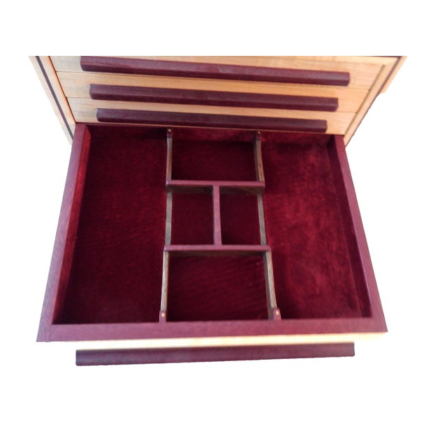 Large Jewelry Box & Organizer For Sale - Image 5 of 11