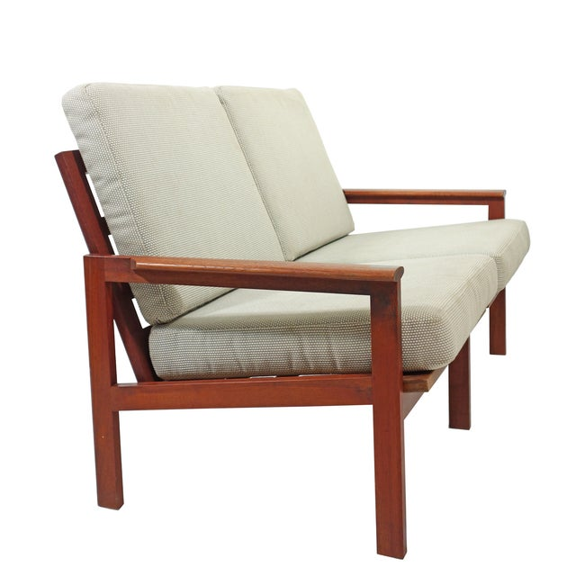 Mid-Century Wikkelso Sofa & Two Lounge Chairs - Image 6 of 9