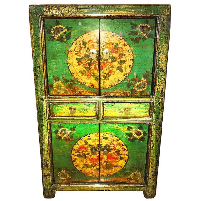 20th Century Chinese Scholars' Cabinet Armoire For Sale - Image 4 of 4