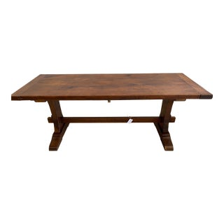 French Farm Style Dining Table For Sale