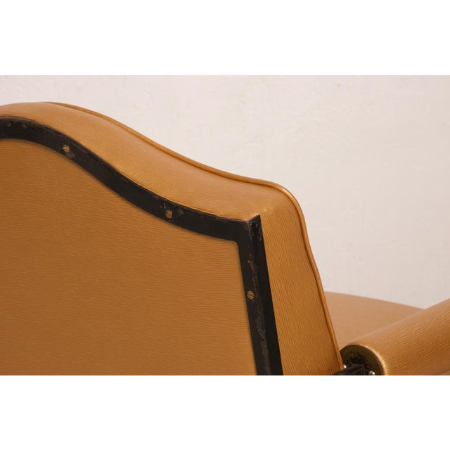 French Neoclassical Revival Mexican Modernist Arm Chairs Attr Arturo Pani - a Pair For Sale - Image 9 of 12