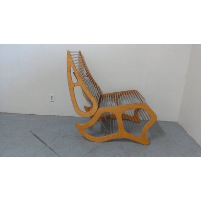 Mid-Century Modern Abstract Chair - Image 3 of 8