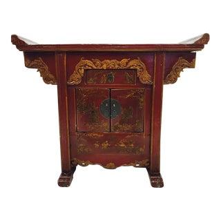 Vintage Asian Altar Table