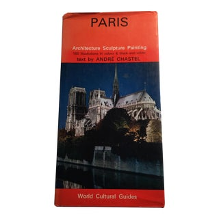 1971 Paris World Cultural Guide Book by Andre Chastel For Sale