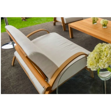 Campaign Summit Furniture Sundeck Sofa For Sale - Image 3 of 5