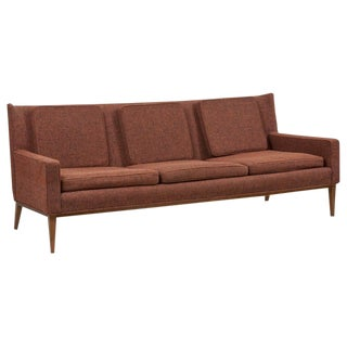 1307 Wingback Sofa by Paul McCobb for Directional 'Upholstery Needed', Us, 1950s For Sale