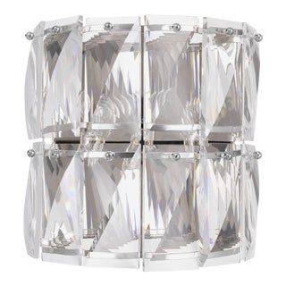Crystal Glass Wall Lamp | Eichholtz Amazone For Sale