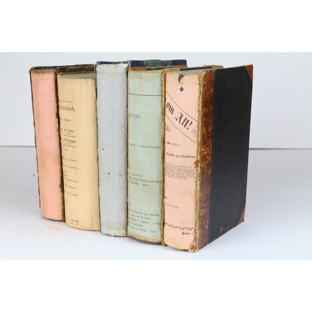 Deconstructed Antique Books - Set of 5 - Image 2 of 4