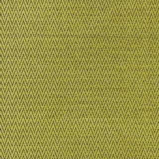 Scalamandre Chevron Chenille Fabric in Chartreuse Sample For Sale