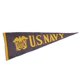 U.S. Navy Felted Pennant