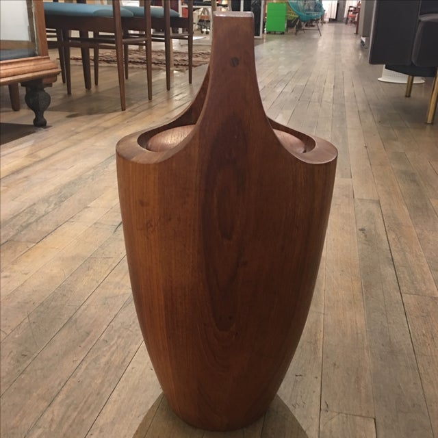 Dansk Danish Vintage Viking Ice Bucket For Sale - Image 5 of 7