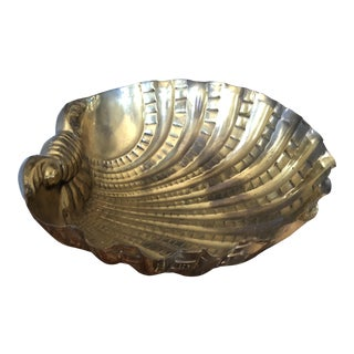 1970s Vintage Italian Shell Bowl For Sale