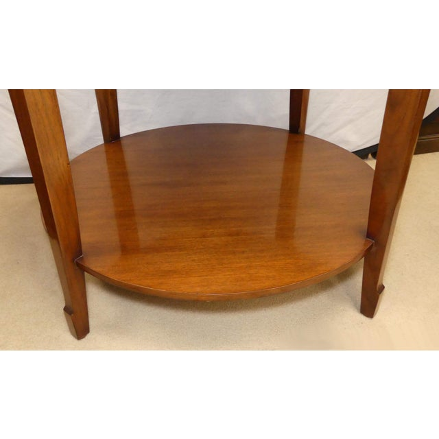Barbara Barry Skirted Accent or End Table For Sale In Miami - Image 6 of 9