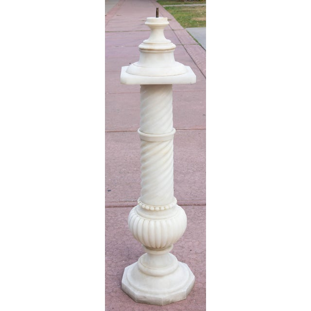 Antique 19th Century Marble Bust With Pedestal For Sale In Rochester - Image 6 of 7