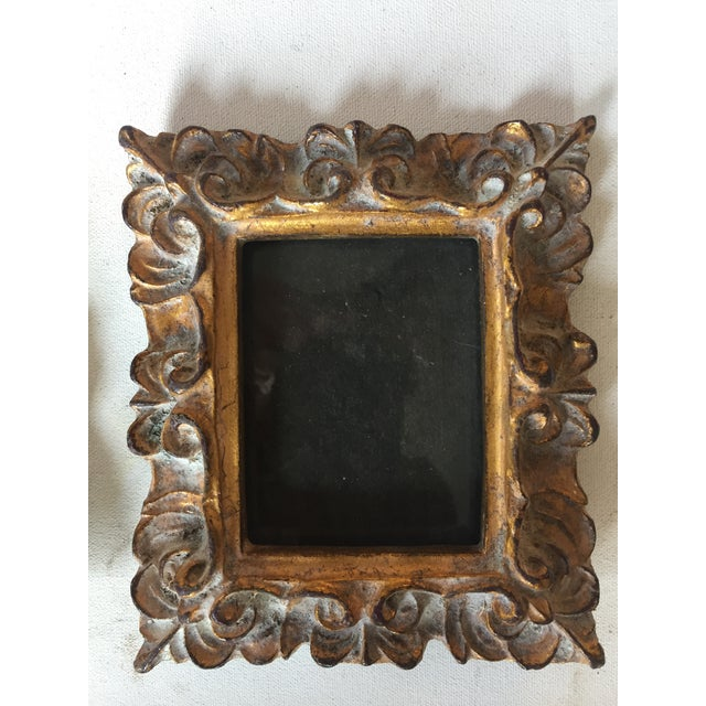 Vintage Italian Composite Small Photo Frames - a Pair - Image 4 of 5