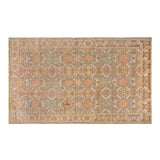 Image of 1920s Cotton Agra Rug - 4′ × 6′6″ For Sale