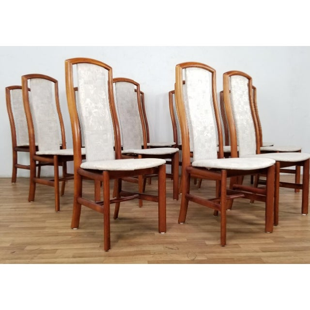 Danish Modern Mid-Century Danish Dining Chairs- Set of 12 For Sale - Image 3 of 12