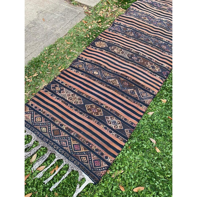 All rugs have been professionally cleaned; original condition is not altered, age-related wear is considered normal in...