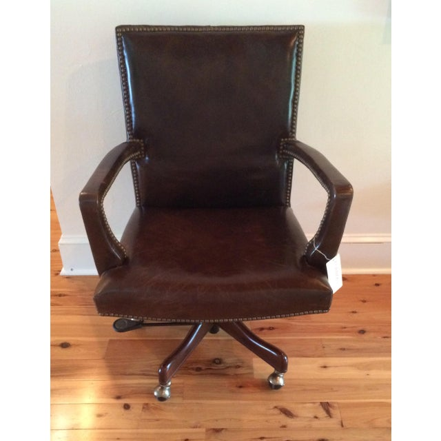 Hooker Furniture Hooker Furniture Wingate Executive Chair For Sale - Image 4 of 5