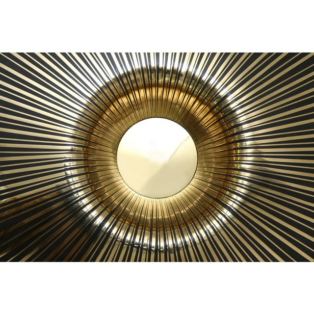 Brass The Vortex Cocktail Table by Yann Dessauvages For Sale - Image 7 of 8