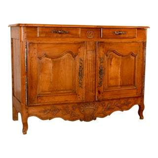 18th C French Cherry Buffet For Sale