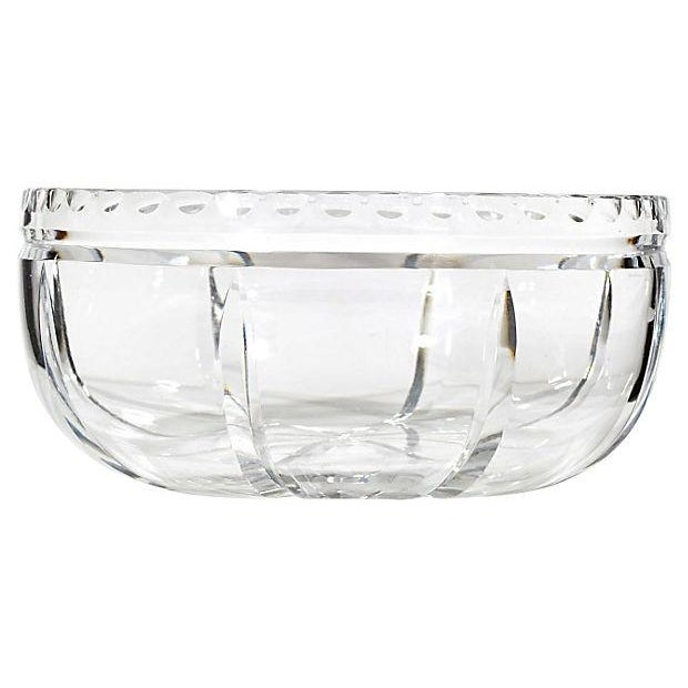 Wheel-Cut Glass Catchall - Image 2 of 2