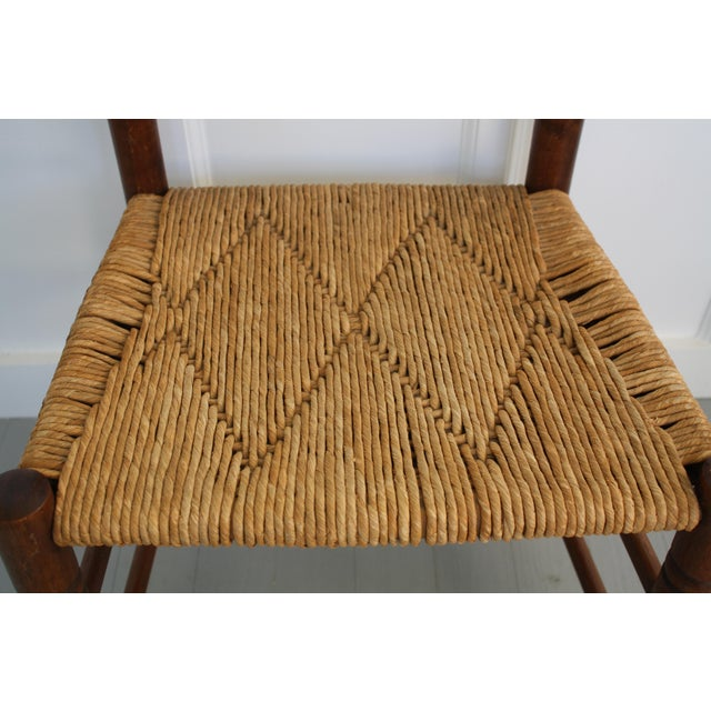 Antique Rush Seat Chairs - A Pair - Image 6 of 11