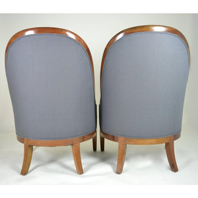 Spoon Back Chairs by Baker Furniture - Image 7 of 9