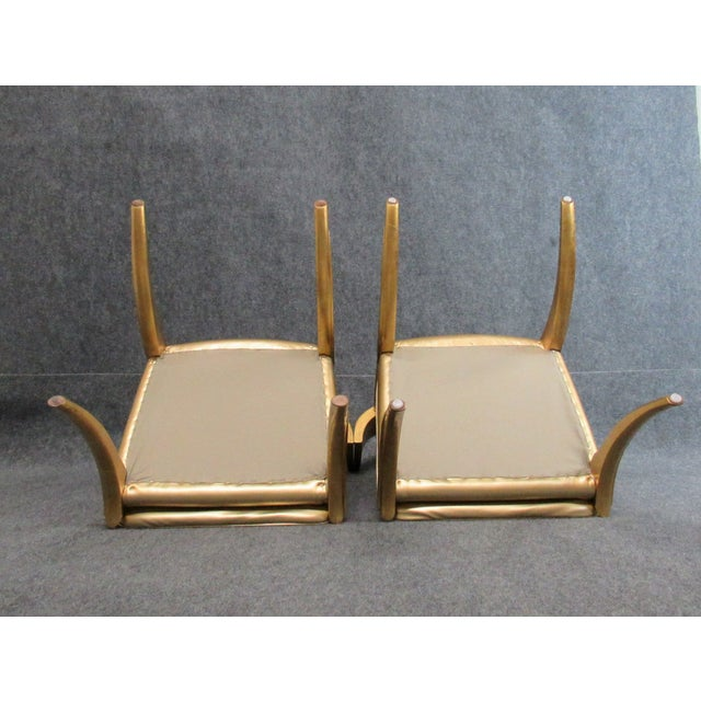 Vintage Mid-Century Modern Klismos Chairs- a Pair For Sale - Image 6 of 13
