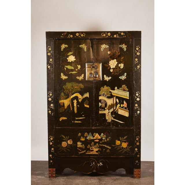 Asian Rare Pair of 18th Century Chinese Cabinets For Sale - Image 3 of 11