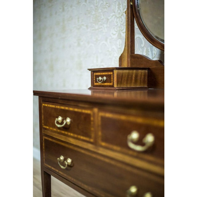 19th Century English Vanity Table, Signed Maple & Co. For Sale - Image 6 of 12