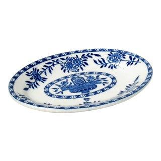 Vintage English Blue & White Dish