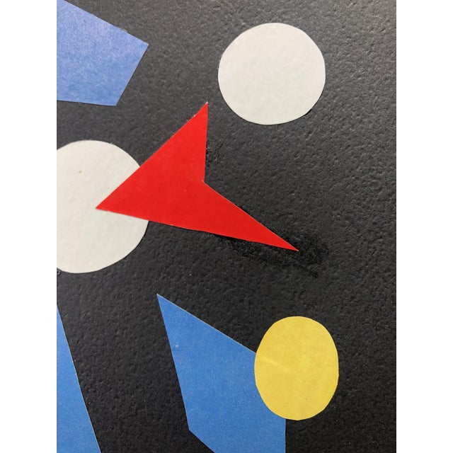 "Abstract ""After Midnight"" Collage by Dalley For Sale - Image 3 of 5"