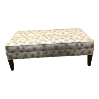 Stickley Upholstered Ottoman For Sale
