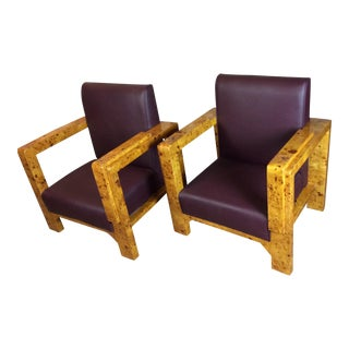 Biedermeier Arm Chairs - A Pair