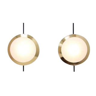Wall Sconces in the Manner of Stilnovo For Sale