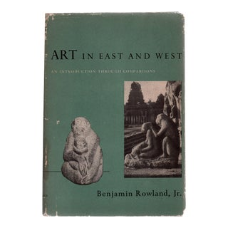 "1954 ""Art in the East and West"" First Printing Book"