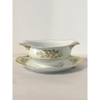 Meito Fine China Langdon Gravy Boat and Creamer - 2 Pieces Preview