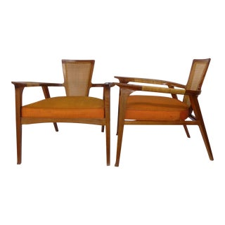 1950s Swedish William Hinn for the Urban Furniture Company Side Chairs For Sale