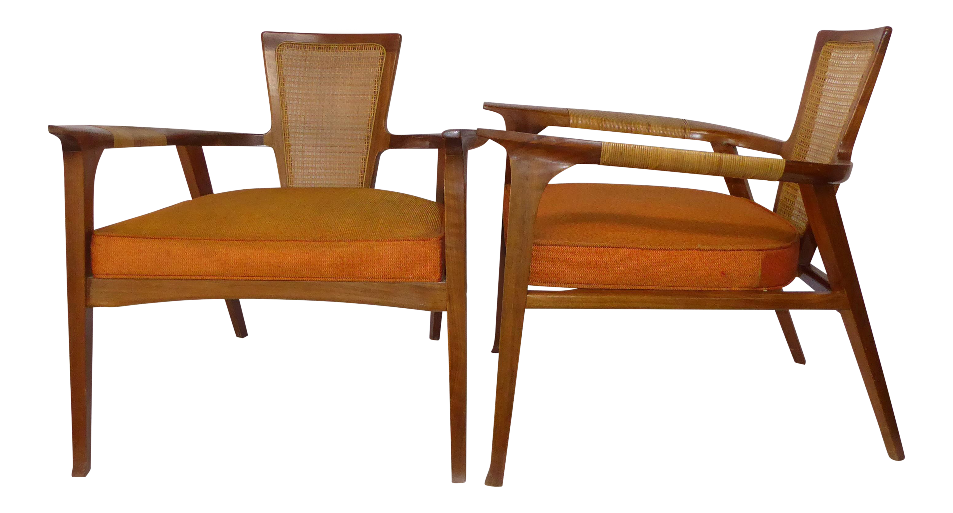 1950s Swedish William Hinn for the Urban Furniture Company Side Chairs  sc 1 st  Chairish & Urban Outfitters Howell Canvas Arm Chair | Chairish