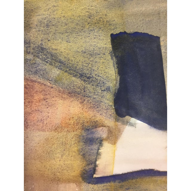 1970s Abstract Expressionism Landscape Bay Area Artist For Sale - Image 4 of 5