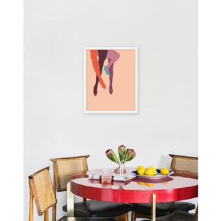 "Medium ""Pump It Up Blush"" Print by Angela Chrusciaki Blehm, 17"" X 21"" Preview"
