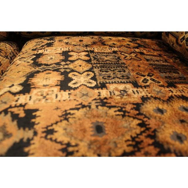 Mid Century Milo Baughman Forecast Furniture Sofa - Image 8 of 11