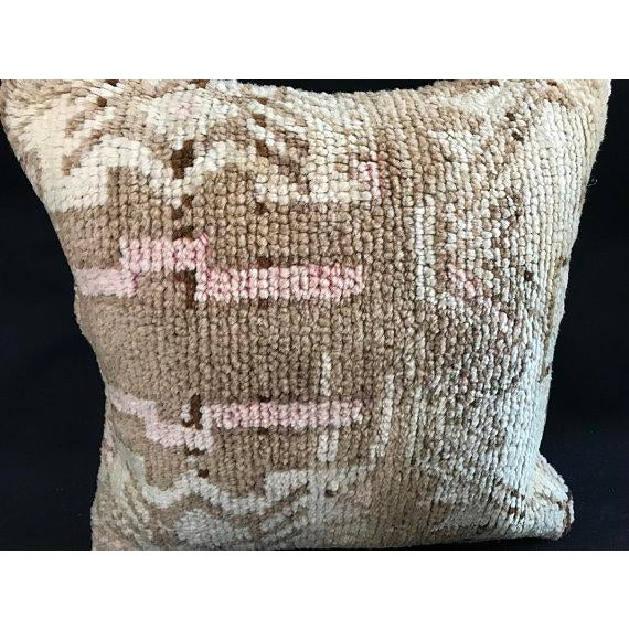 Turkish Oushak Antique Handmade Pillow Case For Sale - Image 10 of 11