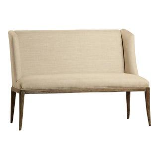 Linen Upholstered Bench