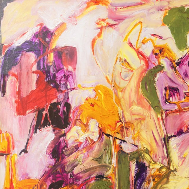 Summer Garden by Elke Behrens, 1994 For Sale - Image 6 of 13