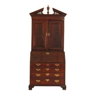 Baker Historic Charleston Mahogany Secretary Desk For Sale