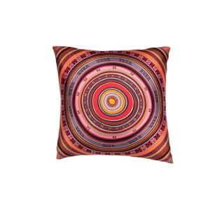 """Tohu Bohu"" Hermès Silk Scarf Pillow For Sale"